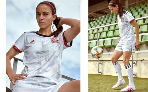 Spain away kit, 2019 Women's World Cup - Credit: ADIDAS