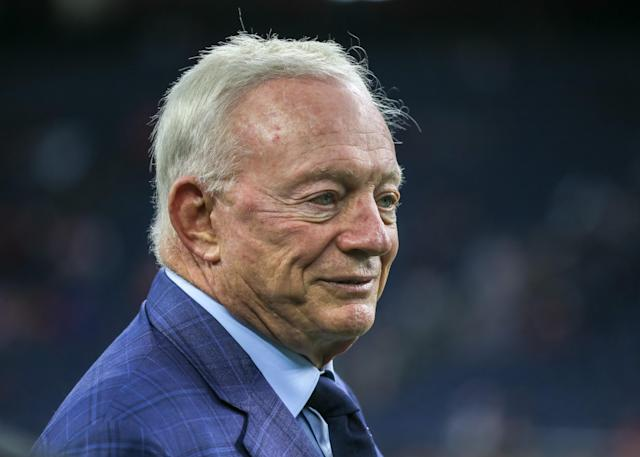 Dallas Cowboys owner Jerry Jones has been silent since George Floyd's death on May 25 that sparked national protests of racial inequality and racism in the United States. (Photo by Leslie Plaza Johnson/Icon Sportswire via Getty Images)