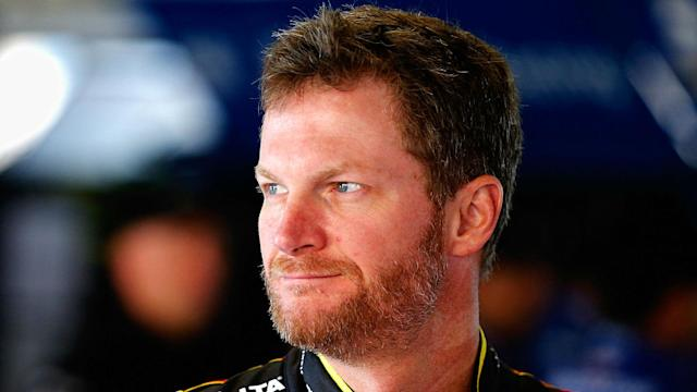 NASCAR's most popular driver sent a loud message Monday morning in response to the sport's sudden involvement in a national debate around protests during the playing or singing of the national anthem at sporting events.