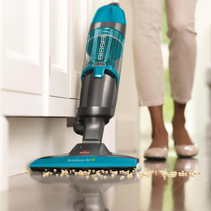 The cleaning power of the Bissell Symphony Plus will be music to your ears. (Photo: QVC)