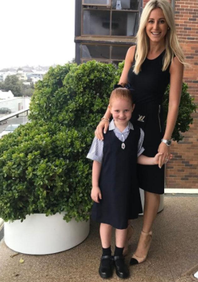 Mummy's girl is growing up fast! Photo: Instagram