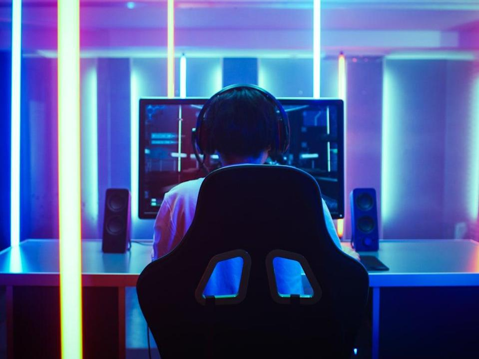 'Playing computer games is all modern teens are doing and it's fine to leave them to it for a while' (Getty Images/iStockphoto)