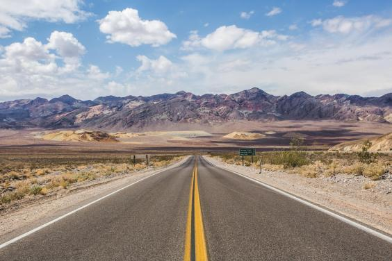Road tripping through Death Valley (Visit California)