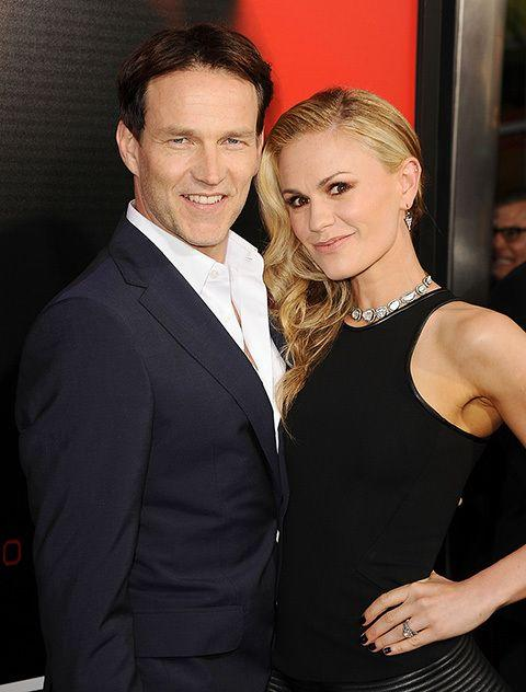 Anna Paquin and husband and