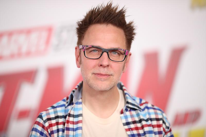 "James Gunn attends the premiere of Disney And Marvel's ""Ant-Man And The Wasp"" on June 25, 2018. (Photo by Christopher Polk/Getty Images)"