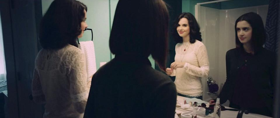 """<p>Laura and Vanessa Marano coproduced (and star in) this drama, which is based on Alyson Noël's novel of the same name. Saving Zoë tells the story of Echo (played by Laura), who enters high school still trying to understand her older sister Zoë's (played by Vanessa) murder, only to find out her sibling was a victim of sexual exploitation.</p> <p><a href=""""http://www.netflix.com/title/81144867"""" class=""""link rapid-noclick-resp"""" rel=""""nofollow noopener"""" target=""""_blank"""" data-ylk=""""slk:Watch Saving Zoë on Netflix"""">Watch <strong>Saving Zoë </strong>on Netflix</a>. </p>"""