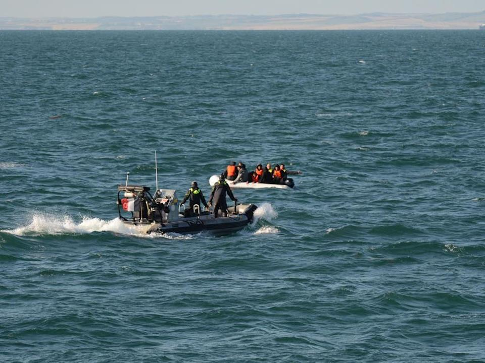 <p>A new poll by Ipsos Mori shows a rise in sympathy among the British public for those attempting to cross the Channel since August 2019</p> (PA)