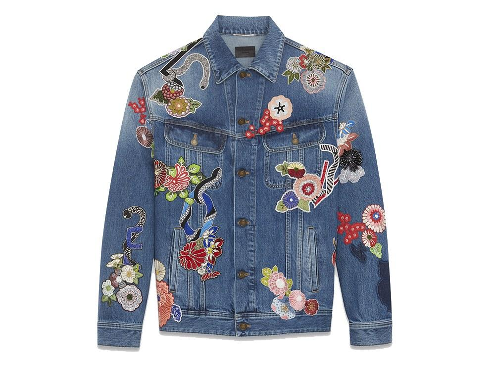 "<p><em>$3,490, buy now at <a rel=""nofollow"" href=""http://www.ysl.com/us/shop-product/men/ready-to-wear-casual-jackets-original-blue-love-embroidery-jean-jacket_cod34711332xh.html?mbid=synd_yahoostyle#section=men_rtw_denim"">ysl.com</a></em></p>"