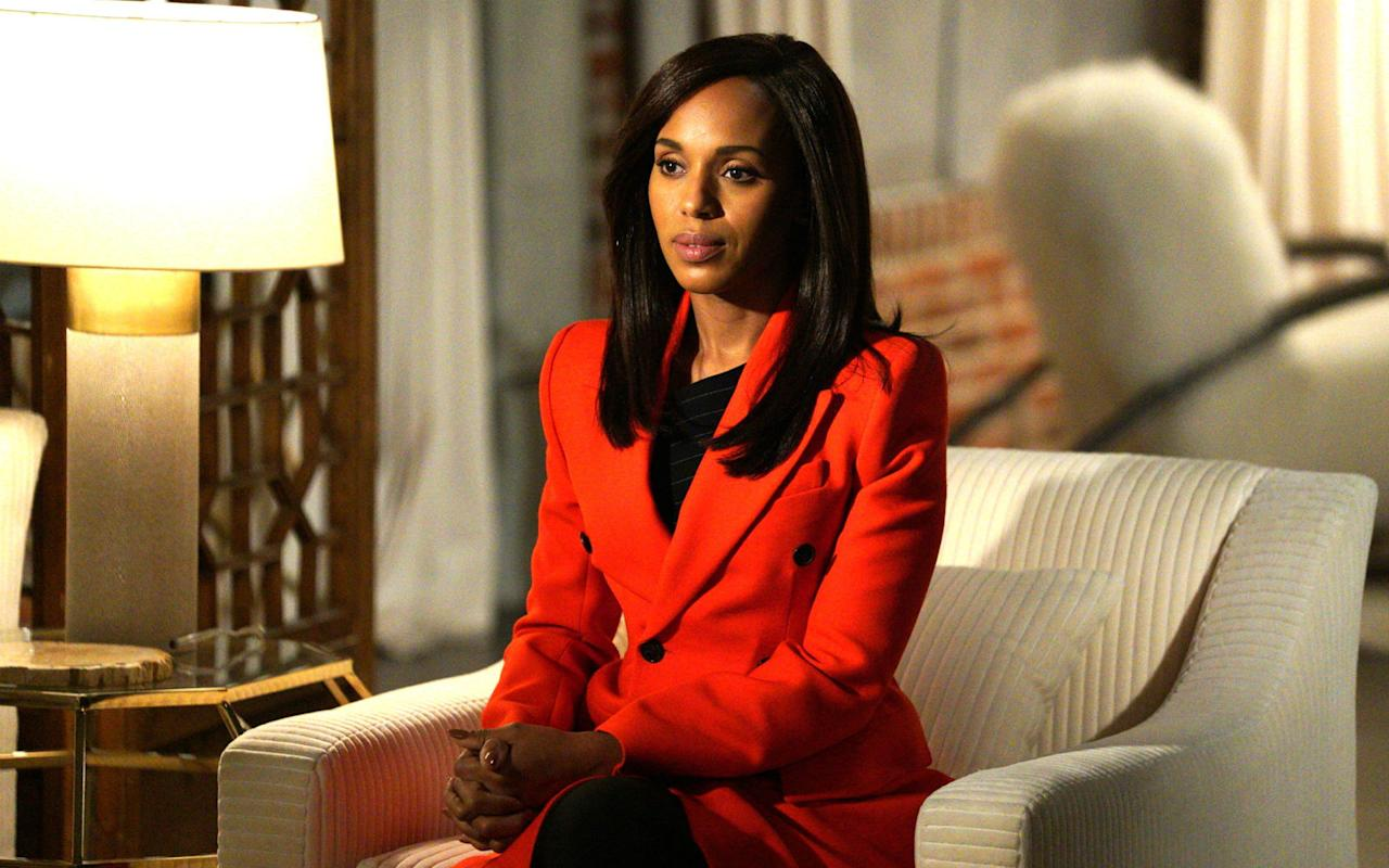 <p>Kerry Washington, alias Olivia Pope dans Scandal...</p>...