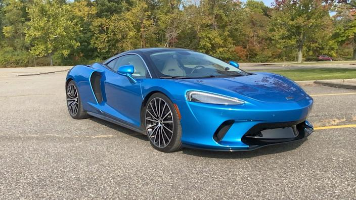 2020 McLaren GT prices start at $210,000