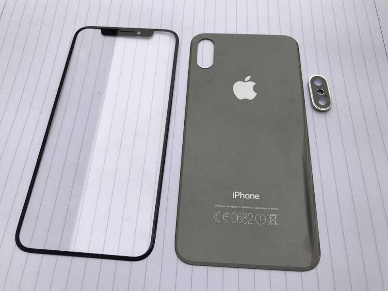Front and Back Covers for iPhone 8 and iPhone 7s Allegedly Leaked