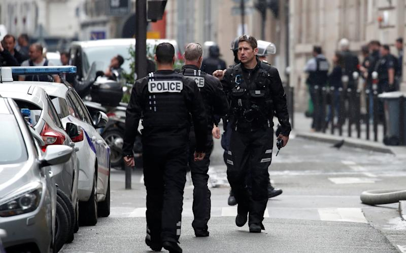 French police working in Paris - REUTERS