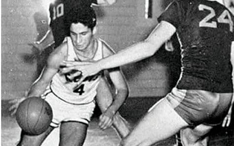 On the basketball team in high school - Courtesy of Anthony Fauci