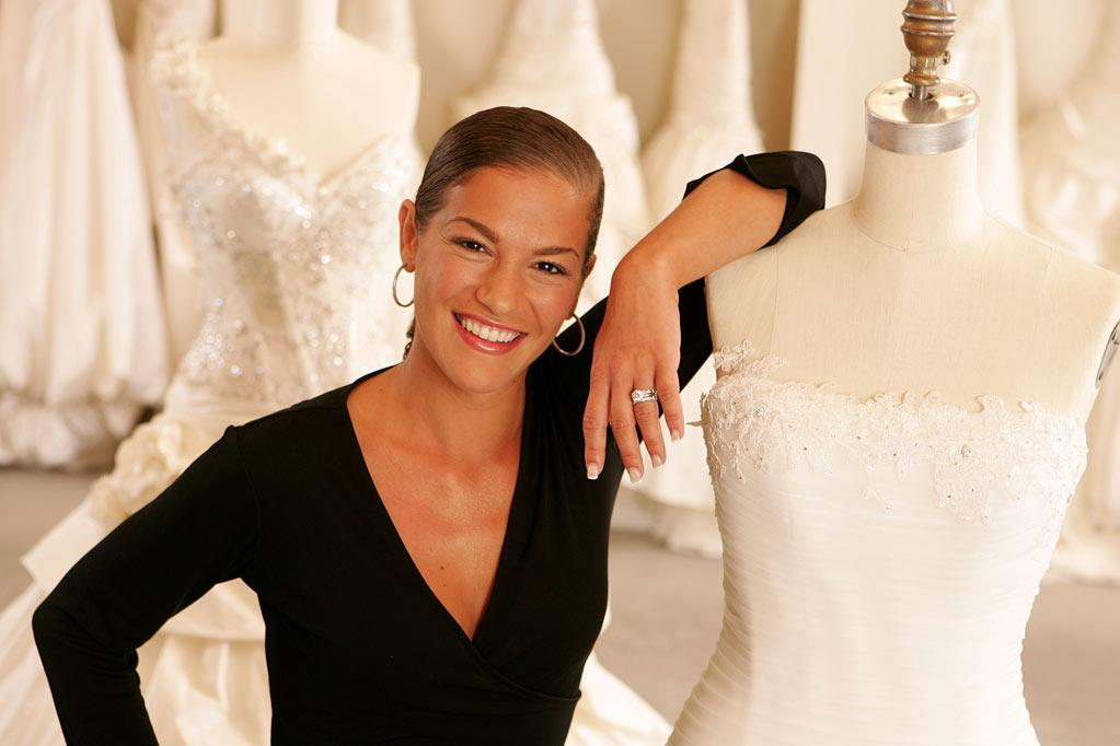 """Nicole, director of sales at Kleinfeld Bridal, on """"Say Yes to the Dress."""""""