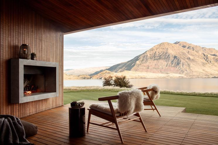 Te Kahu, in New Zealand. Source: Airbnb Luxe