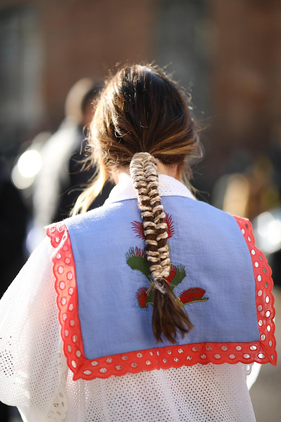 Yet another argument for weaving a ribbon through your braid.