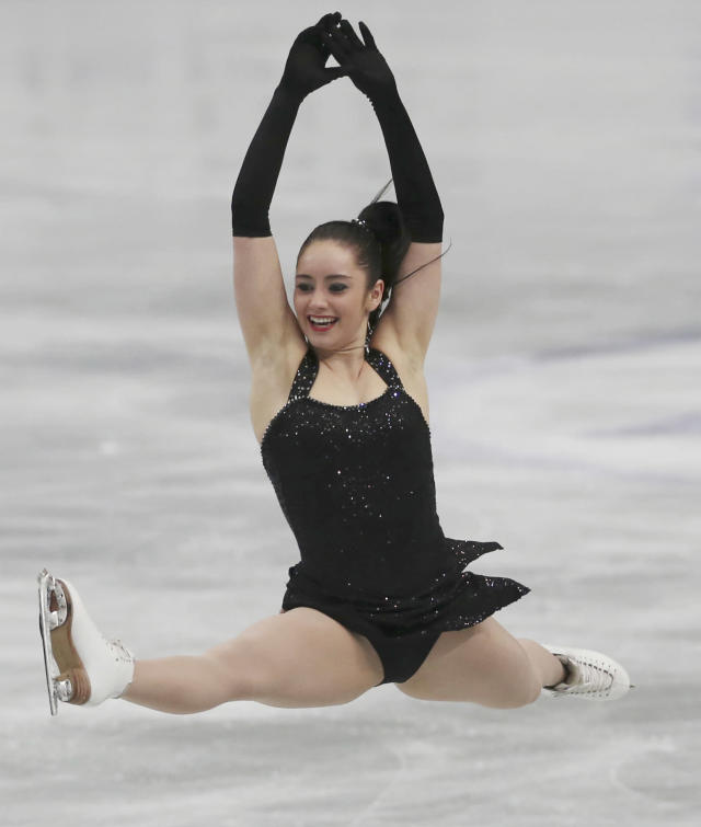 <p>She returned to competition one year after the injury and over time, fought her way back onto Team Canada. (AP) </p>