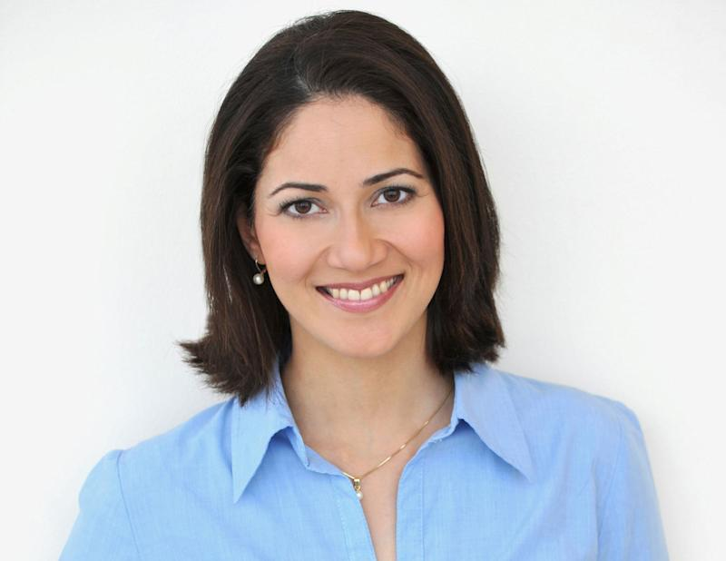 Mishal Husain is pictured.