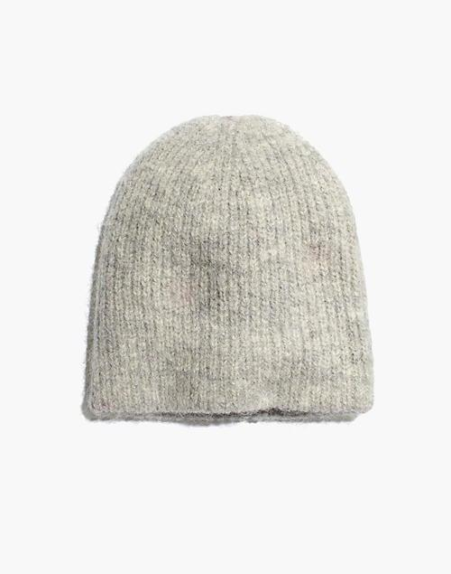 <p>This <span>Madewell Merino Ribbed Beanie</span> ($38) is such a good idea.</p>