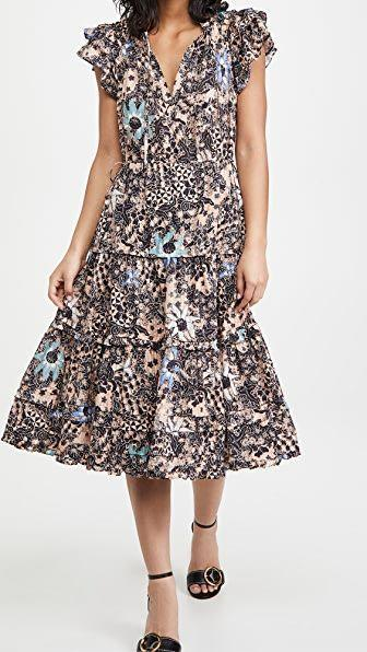 """<p><strong>Ulla Johnson</strong></p><p>shopbop.com</p><p><strong>$395.00</strong></p><p><a href=""""https://go.redirectingat.com?id=74968X1596630&url=https%3A%2F%2Fwww.shopbop.com%2Frema-dress-ulla-johnson%2Fvp%2Fv%3D1%2F1569423577.htm&sref=https%3A%2F%2Fwww.townandcountrymag.com%2Fstyle%2Fg35967684%2Fwhat-to-wear-to-get-vaccinated%2F"""" rel=""""nofollow noopener"""" target=""""_blank"""" data-ylk=""""slk:Shop Now"""" class=""""link rapid-noclick-resp"""">Shop Now</a></p><p>It is sundress season, after all. Flutter down the hallways with you PPE in a romantic dress that will also prove comfortable, no matter the weather.</p>"""