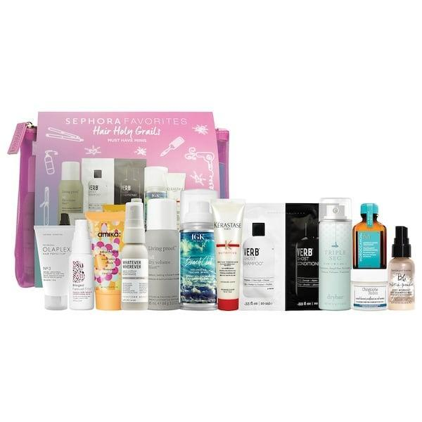 <p>While the products in this <span>Sephora Favorites Hair Holy Grails</span> ($40) aren't new, it'd be hard to not have at least <em>one</em> product out of the 12 that's new to you (and it's valued at $105, too).</p>