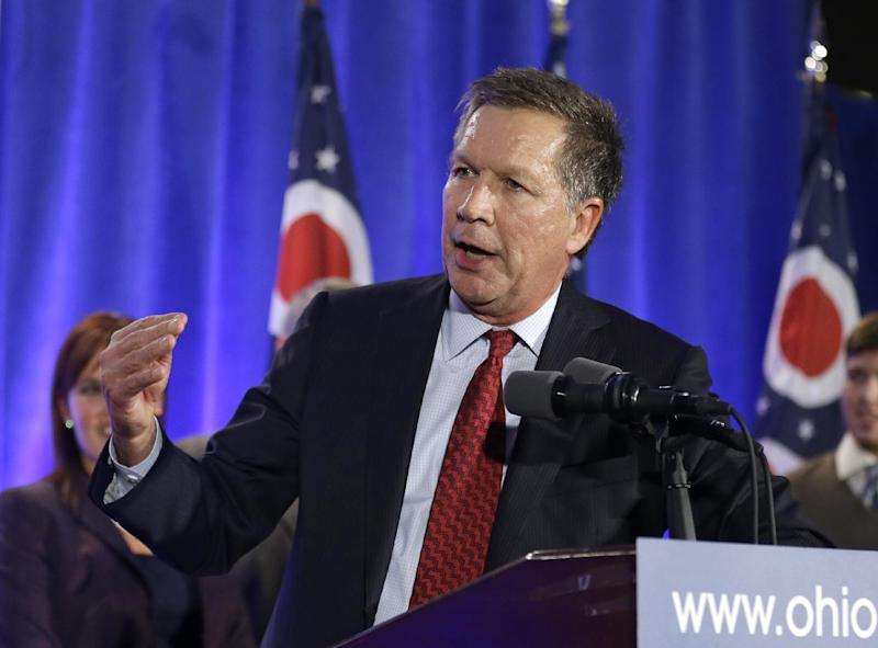 Ohio Gov. John Kasich steals the show at Republican ...