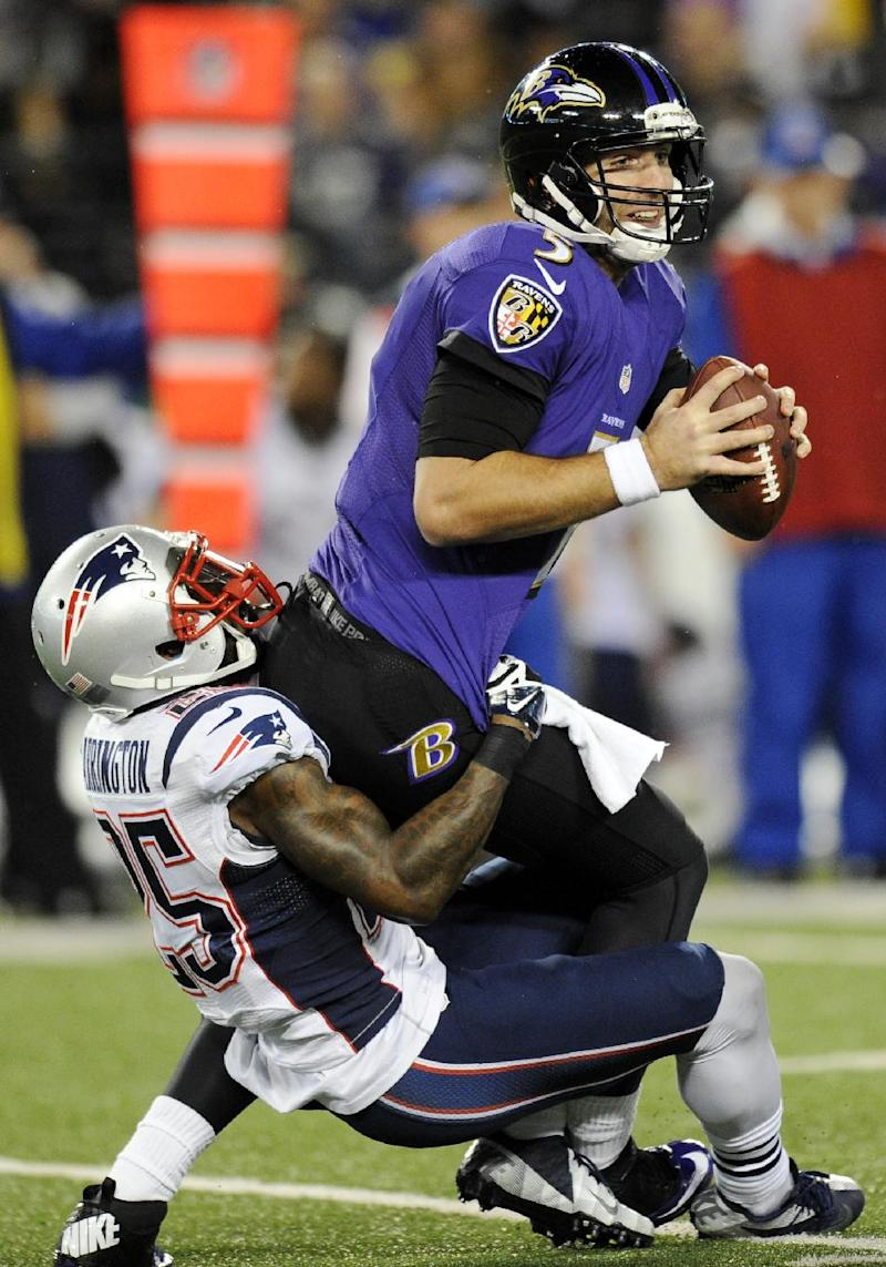 5 things to know after Patriots rout Ravens' 41-7