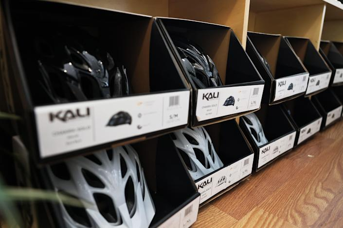 These days, bike helmets come in all price points (ranging from $30 to upwards of $200), are comfortable and come with lots of air vents to keep you cool. But all can save you from a head injury in the case of a crash.