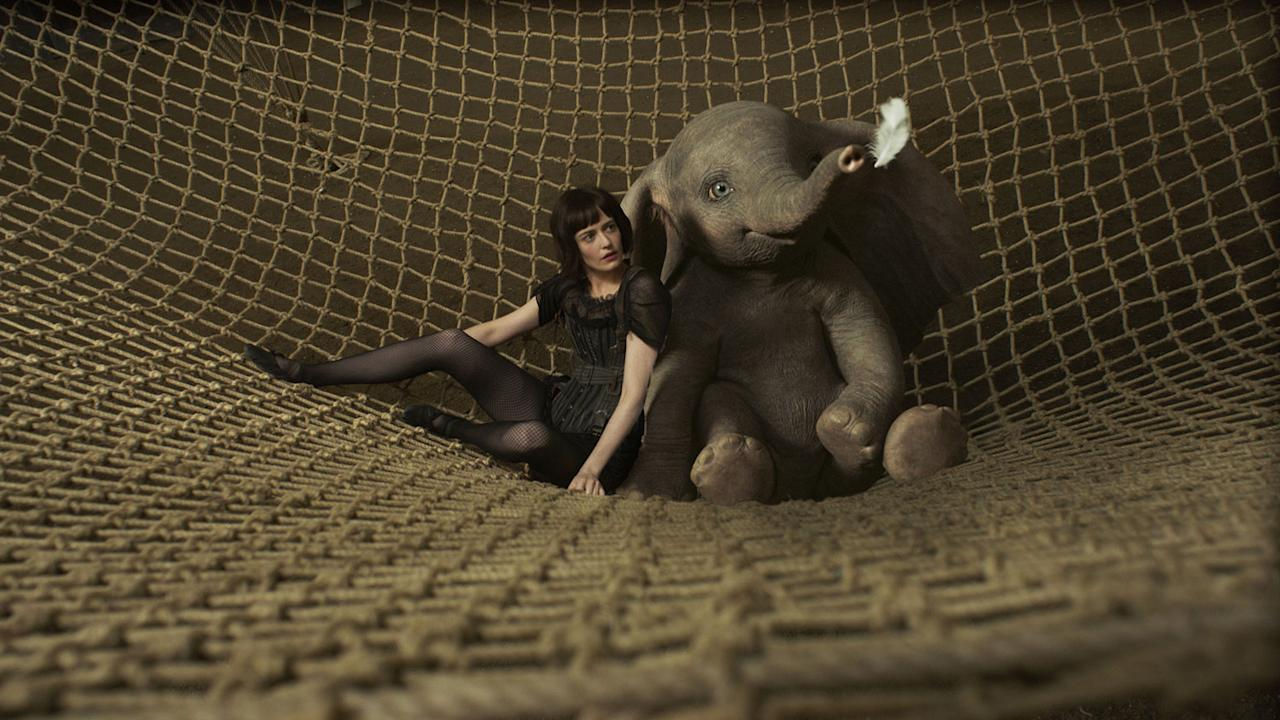 <p>Eva Green's look for the film was inspired by silent screen stars. (Disney) </p>