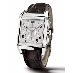 Jaeger Lecoultre Reverso Squadra Chrono GMT - We love the big date and the oversized pushers; the 24-hour dial at 6 o'clock could have been bigger, though