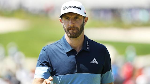 Sitting seven shots back, Dustin Johnson knows he will need some luck to catch US PGA Championship leader Brooks Koepka.