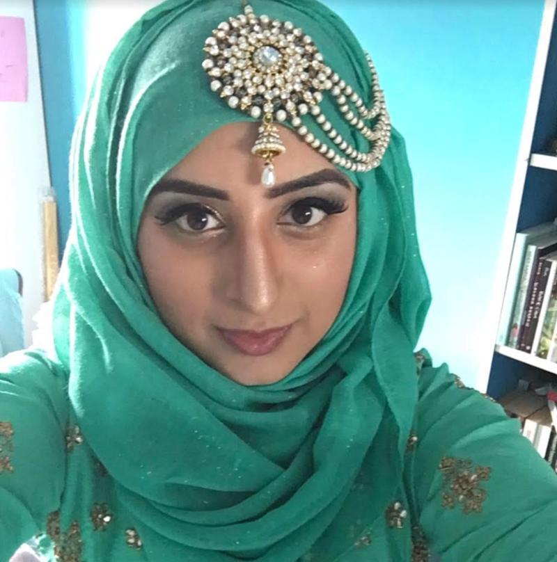 Raisah Ahmed says she will be getting dressed up for Eid despite being in lockdown (Photo: HuffPost UK)