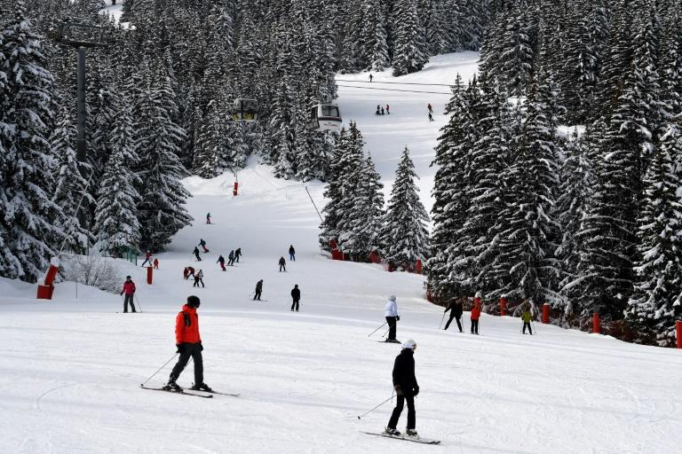 "At least five deputies in the Ukrainian parliament, plus a judge, have caught the ""Courchevel virus"" -- the coronavirus -- while on a ski trip in France"