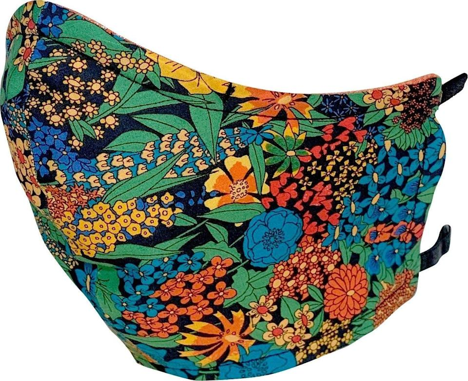 <p>This <span>Love Reversible Reusable Face Mask</span> ($32) comes in a couple different prints, and the fabric should be easy enough to breathe through while working out.</p>