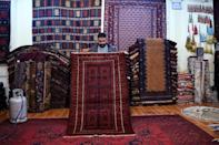 Afghanistan's rug hunters can spend weeks or months passing through villages like sleuths along old caravan trails