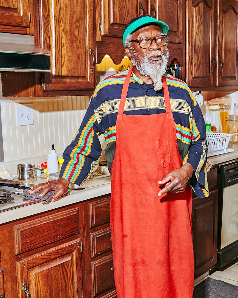Chef Roosevelt Brownlee cooked soul food for all the jazz greats, and now lives in Savannah.