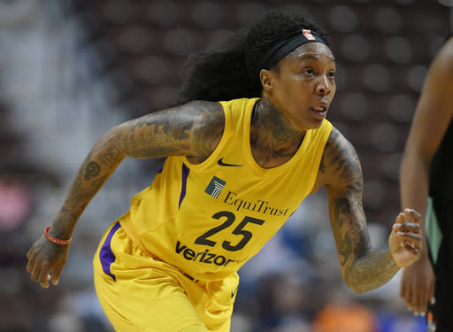 Former WNBA star Cappie Pondexter arrested for battery