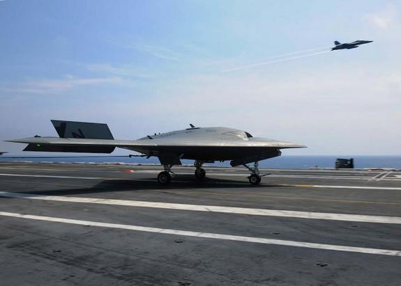 Fighter Jets and Drones Practice Rapid-Fire Launches
