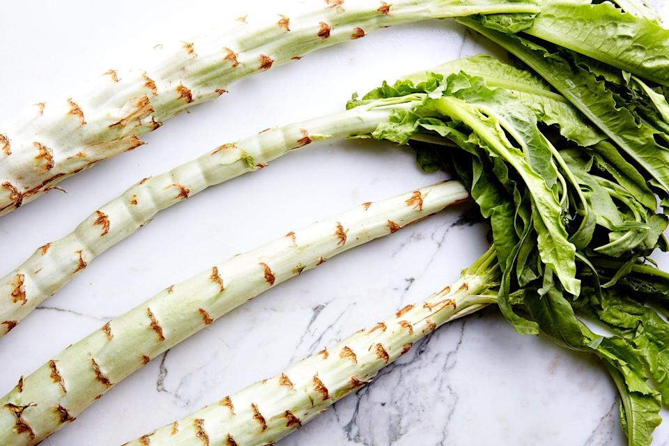 """<h1 class=""""title"""">Celtuce</h1> <cite class=""""credit"""">Photo by Chelsea Kyle, Food Styling by Rhoda Boone</cite>"""