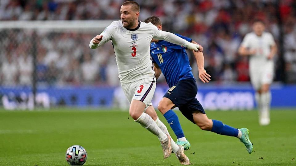 Euro 2020 final: England lead at the break against Italy