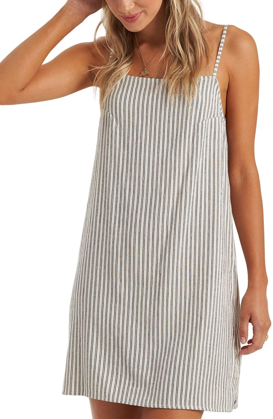 <p>You'll look instantly put-together in this <span>Billabong Daydreamer Yarn Dye Stripe Sundress</span> ($21, originally $46).</p>