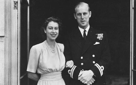 Enduring love: Princes Elizabeth and Prince Philip in 1947 - Credit: Hulton Royals Collection