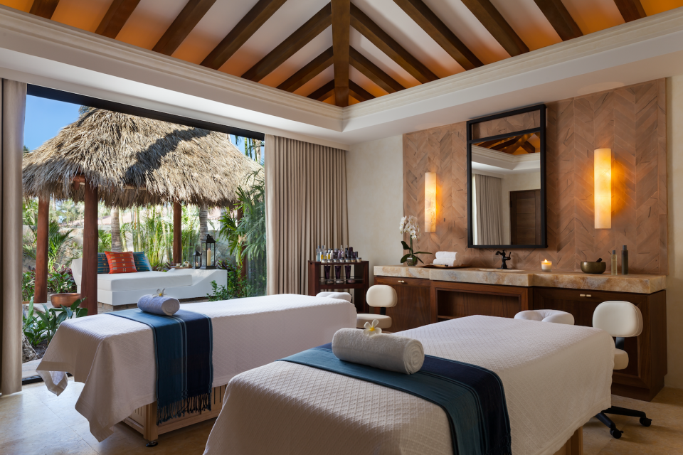"""<p>There's also a spa to relax and unwind in ahead – and after – the potentially stressful big day.<br>Source: <a rel=""""nofollow noopener"""" href=""""https://www.oneandonlyresorts.com/one-and-only-palmilla-los-cabos"""" target=""""_blank"""" data-ylk=""""slk:One&Only"""" class=""""link rapid-noclick-resp"""">One&Only</a> </p>"""