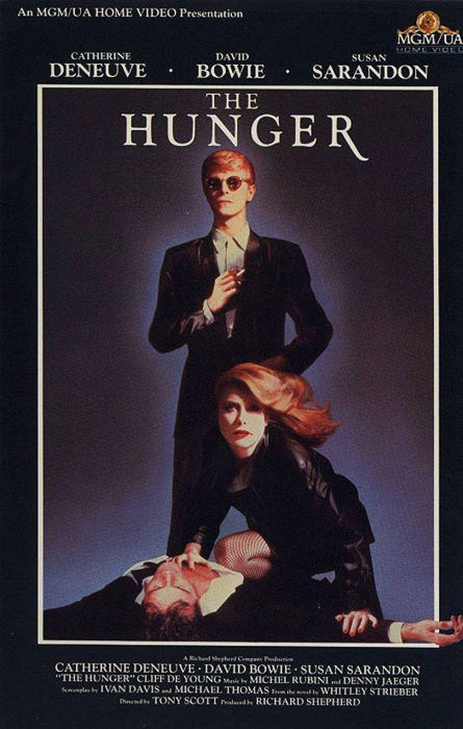 <p>Most horror movies are traditionally gross in at least a handful of ways — people look gross, or they do gross things, or the setting is gross. While some gross stuff does occasionally happen in this movie, it's primarily about not-gross sexy vampires, one of whom is played by David Bowie. You can't lose.</p>