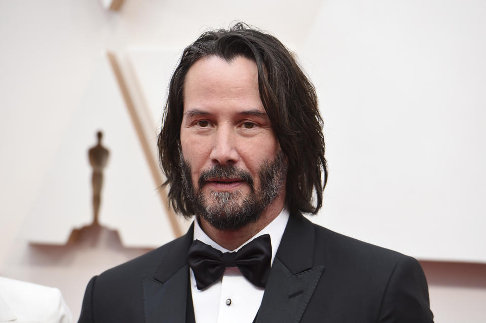 Keanu Reeves would probably approve of a new Washington Sentinels name. (Photo by Jordan Strauss/Invision/AP)