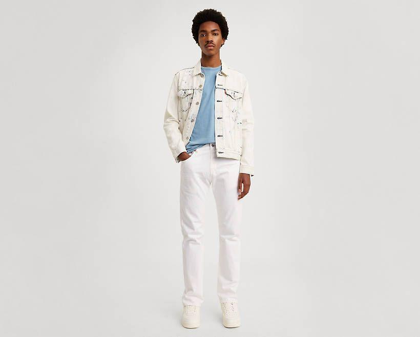 """<p><strong>Levi's</strong></p><p>levi.com</p><p><strong>$34.49</strong></p><p><a href=""""https://go.redirectingat.com?id=74968X1596630&url=https%3A%2F%2Fwww.levi.com%2FUS%2Fen_US%2Fapparel%2Fclothing%2Fbottoms%2F501-93-straight-mens-jeans%2Fp%2F798300033&sref=https%3A%2F%2Fwww.esquire.com%2Fstyle%2Fmens-fashion%2Fg32945302%2Flevis-summer-sale%2F"""" rel=""""nofollow noopener"""" target=""""_blank"""" data-ylk=""""slk:Buy"""" class=""""link rapid-noclick-resp"""">Buy</a></p><p>The best type of throwback. </p>"""