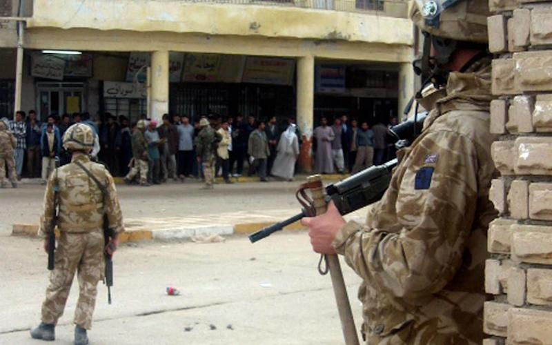 British troops have faced claims they abused Iraqis during the war - AFP