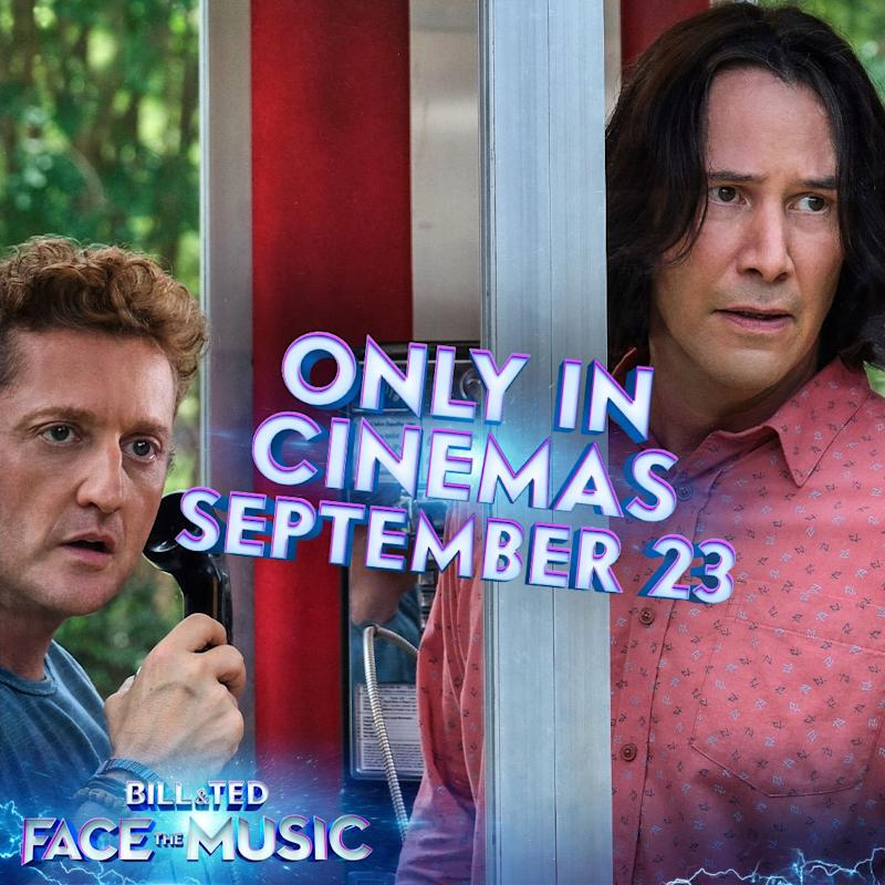 Foo Fighters' Dave Grohl for Bill & Ted: Face The Music cameo?