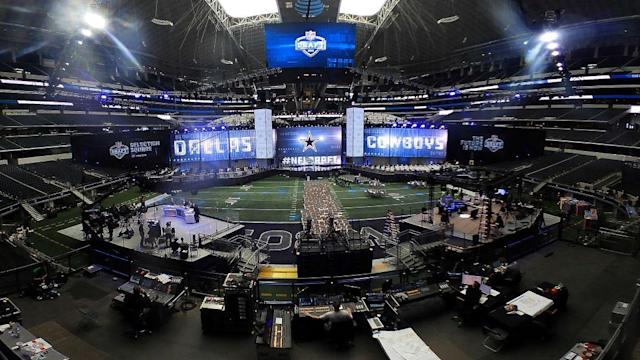 The NFL draft kicks off Thursday night. (Getty)