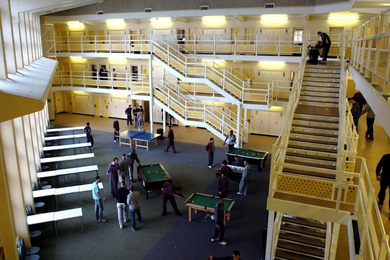 The inside of HMP Woodhill (PA Wire/PA Images)